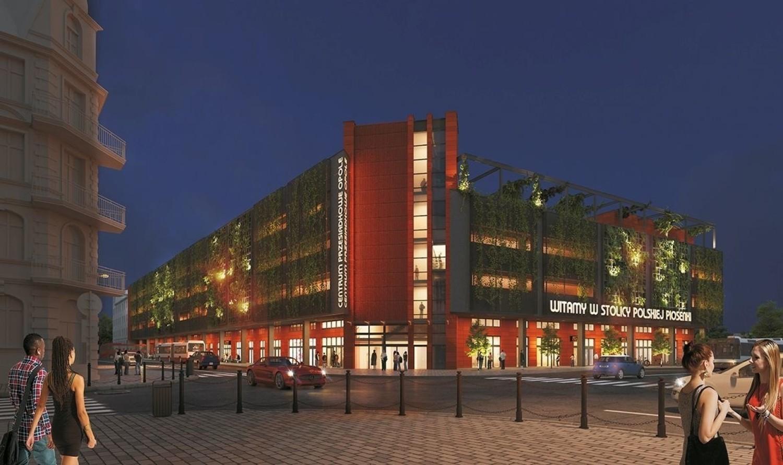 Centrum przesiadkowe Opole Główne ma powstać na płycie dworca autobusowego u zbiegu ulic 1 Maja i Armii Krajowej