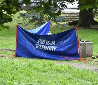 Nagły zgon mężczyzny na skwerze w Opolu