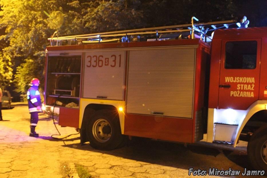 Plaga podpaleń kontenerów w bielskim osiedlu.