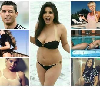 Cristiano Ronaldo i jego eks-dziewczyny