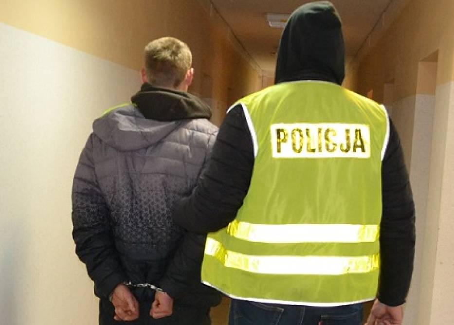 Pruszcz Gdański. Policjanci zatrzymali mężczyznę podejrzanego o pozbawienie wolności kobiety i dziecka