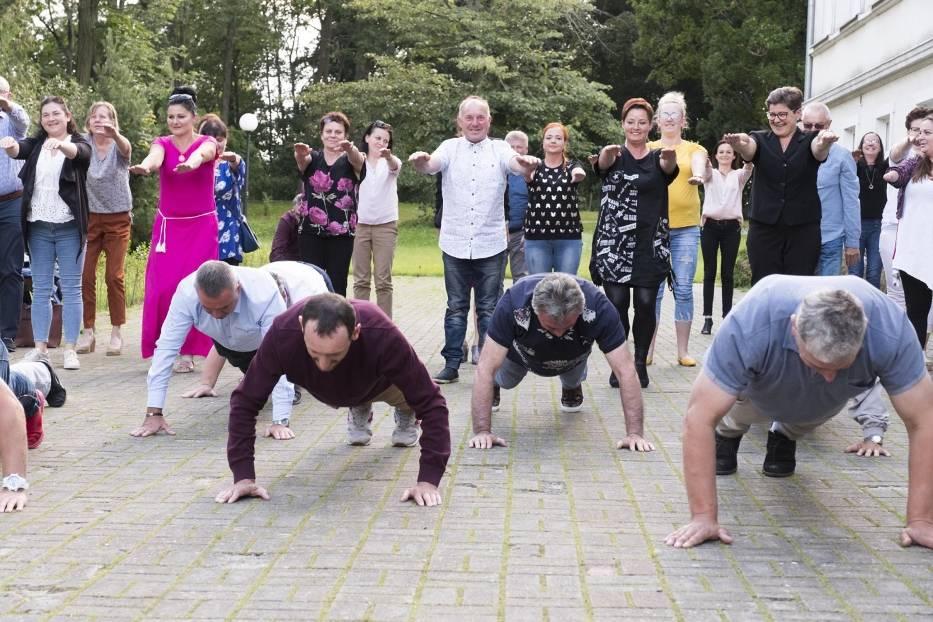 Gaszyn Challenge w wykonaniu sołtysów i rad sołeckich z gminy Margonin