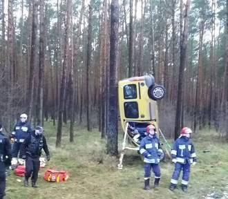 Groźny wypadek koło Skwierzyny. Troje dzieci w szpitalu [ZDJĘCIA]