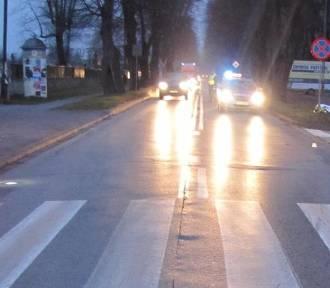 Dwa wypadki w Kętach w ciągu niespełna godziny z udziałem rowerzystów