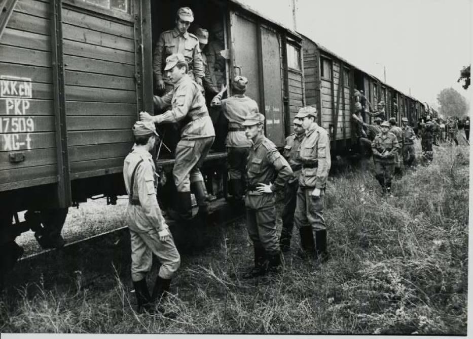 Wyjazd Armii Czerwonej ze Szprotawy