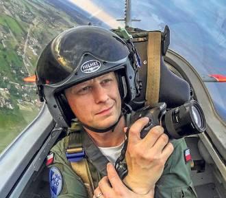 Zobacz niezwykłe zdjęcia pilota kpt. Adama Ginalskiego