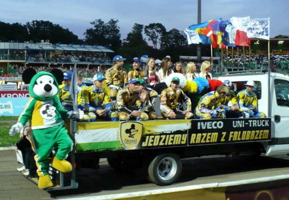 Derby lubuskie, Zielona Góra, 7 sierpnia 2012