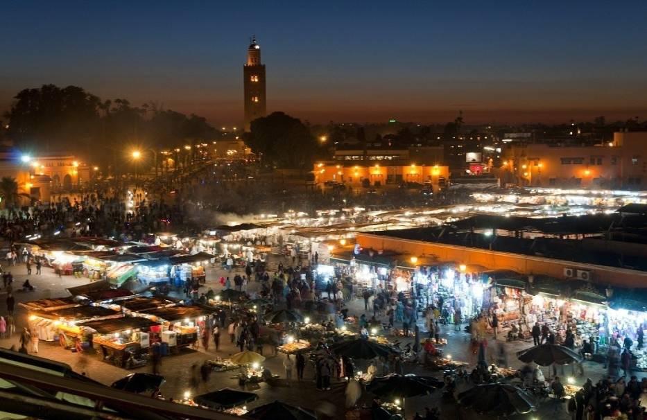 Marrakesz - Jemaa El Fna