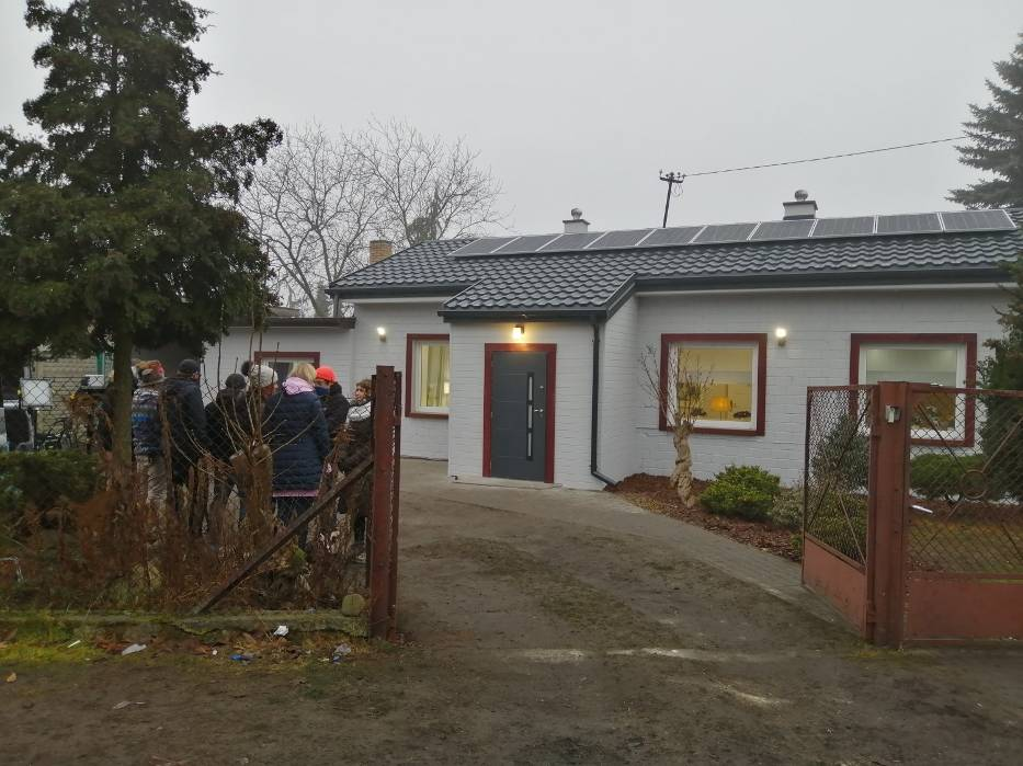 19 grudnia 2020, ekipa programu Polsatu zakończyła prace i przywiozła czteroosobową rodzinę do wyremontowanego domu
