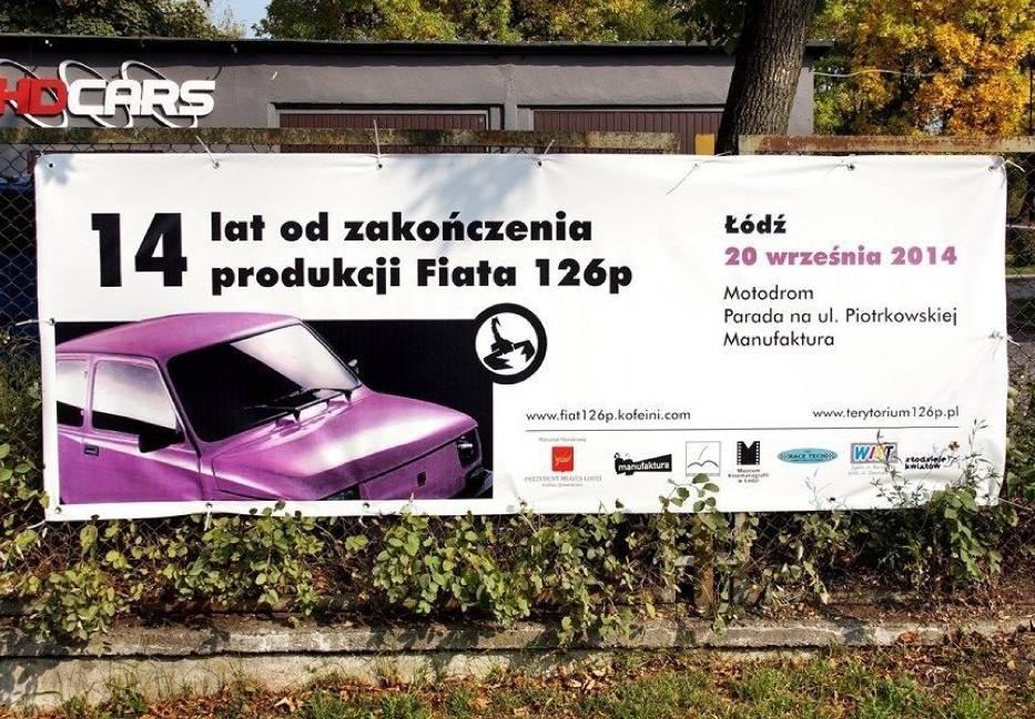 Baner reklamowy Zlotu