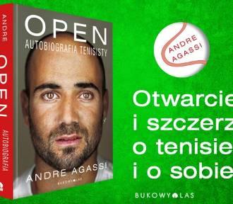 Propozycja od Wydawnictwa Bukowy Las! Open. Autobiografia tenisisty od Andre Agassi - KONKURS!
