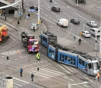 Wrocław. Armagedon komunikacyjny na pl. Grunwaldzkim. Zobacz, co się stało
