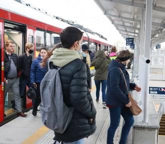 Dworzec Kaliski z nowymi peronami