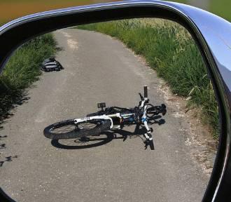 Zderzenie rowerzystów na ścieżce rowerowej w Oświęcimiu