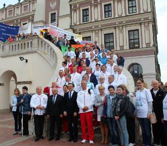 Zamość: XII Ogólnopolskie Igrzyska dla Osób po Transplantacji i Dializowanych (ZDJĘCIA)