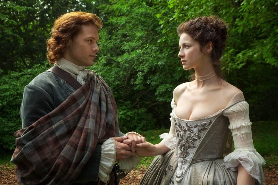 """Outlander"" - kadr z serialu"