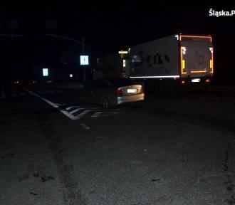Kolejny wypadek w pow.myszkowskim z udziałem pijanego kierowcy ZDJĘCIA