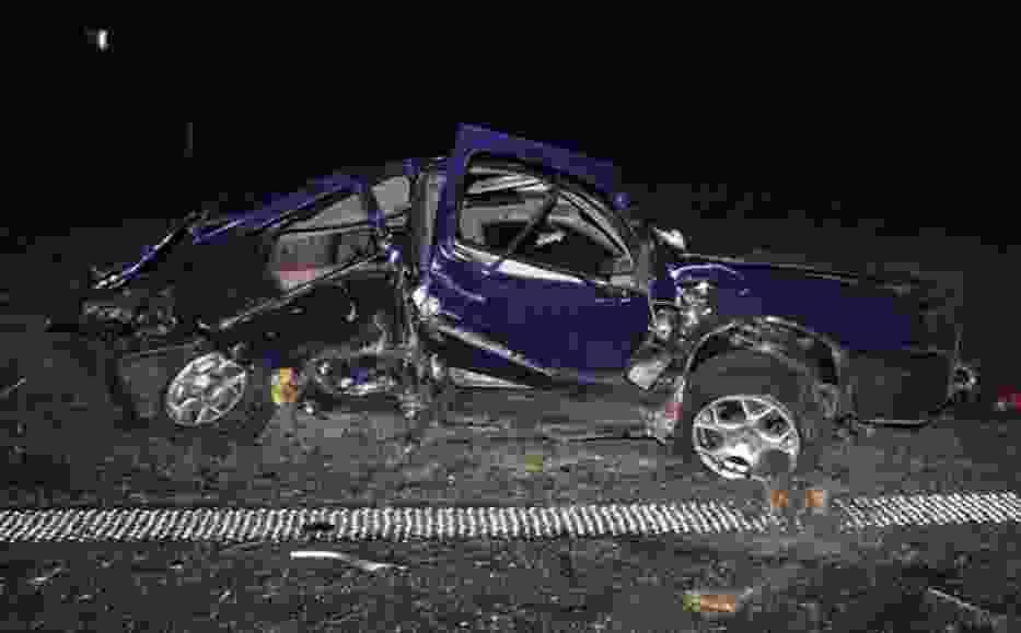 Wypadek w Grzegorzewie
