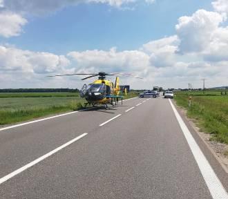 Tragiczny wypadek na krajowej 5. pod Strzegomiem. Nie żyje 25-latek!
