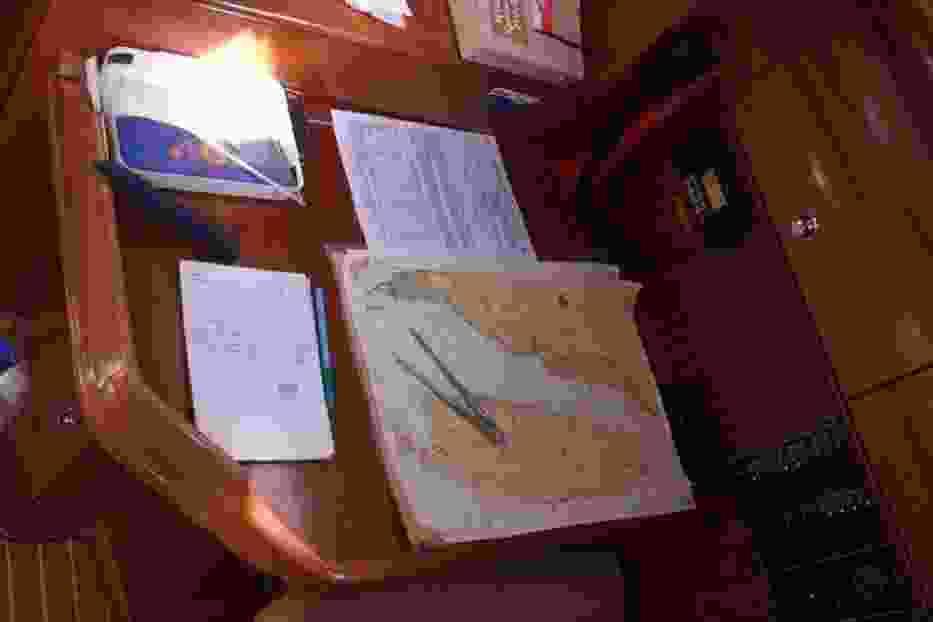 Stół nawigacyjny