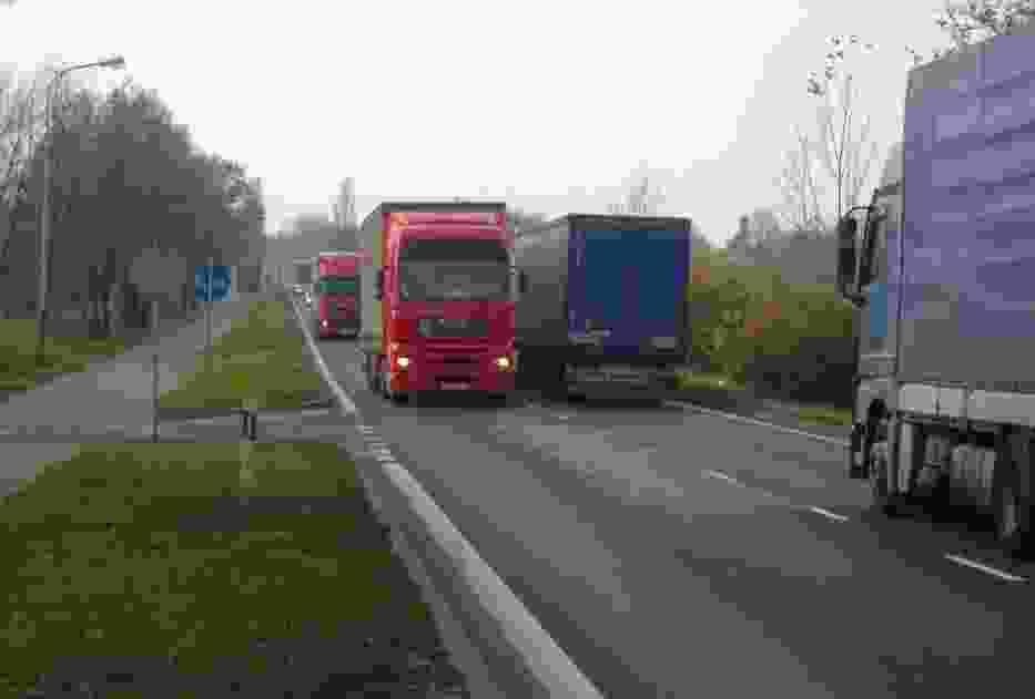 Na pięć pojazdów ciężarowych, dwa mogą być przeładowane