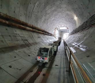 Drążenie tunelu w Świnoujściu nabiera rozpędu - 164 metry wydrążone