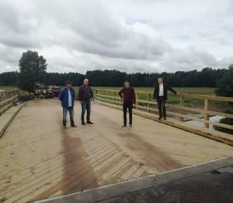 Nowy most w Miedznie już służy mieszkańcom gminy Karsin