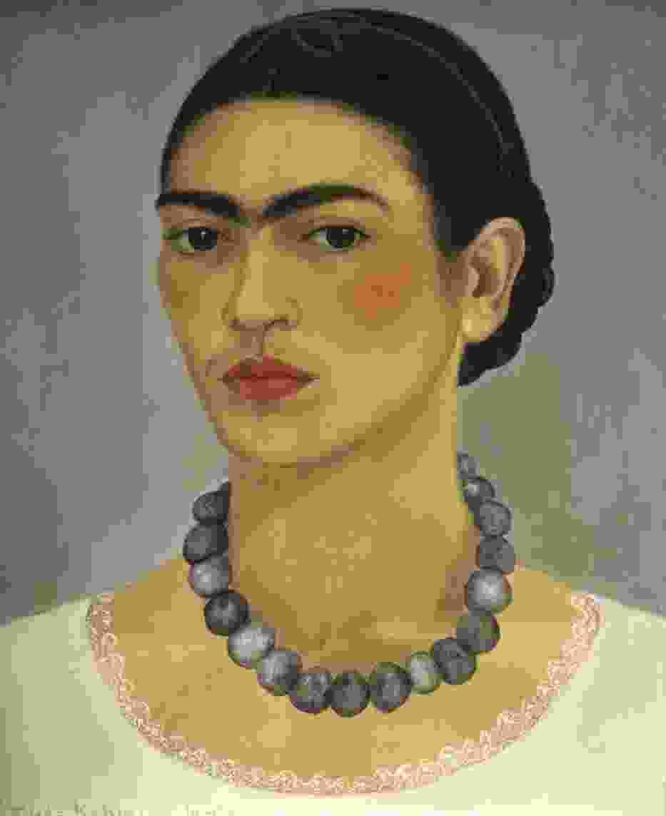 Frida Kahlo, Autoportret z naszyjnikiem