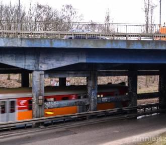 Remont wiaduktu nad torami kolejowymi w Sopocie