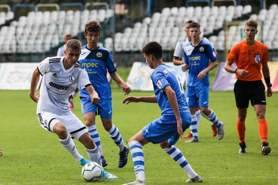 Piłkarze Legii Warszawa prowadzą w Centralnej Lidze Juniorów U-18