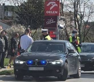 Samochód potrącił dzieci w Kielcach. Policja szuka świadków wypadku