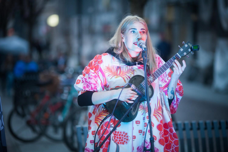 Maja Koman podczas Songwriter Łódź Festiwal 2015