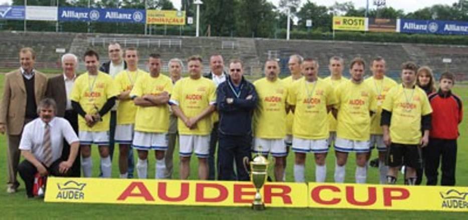 Drużyna oldboyów Piasta Gliwice bardzo dobrze zaprezentowała się podczas turnieju im