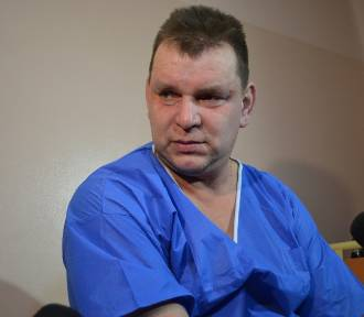 Marek Tobiński to górnik ZG Rudna, którego szukano aż 25 godzin!