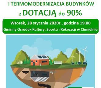 W Chmielnie, Somoninie i Sulęczynie będą mówić o ekologicznych źródłach ciepła