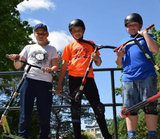 Damian, Milan i Bartek znów pokazują, co potrafią zrobić z hulajnogą