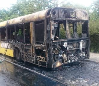 Chorzów - Batory: Pożar autobusu linii 632