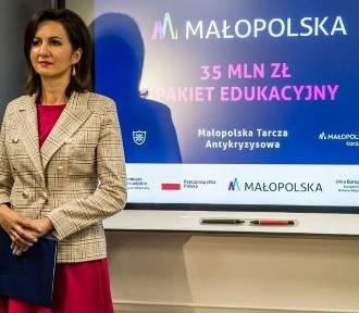 Komputery dla szkół w ramach Małopolskiej Tarczy Antykryzysowej
