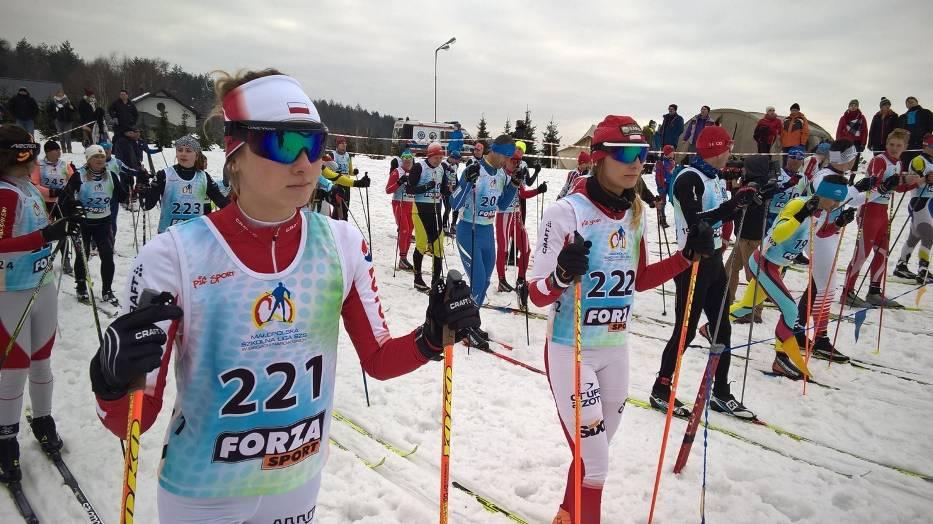 W Czarnorzekach biegali na nartach o puchar wójta