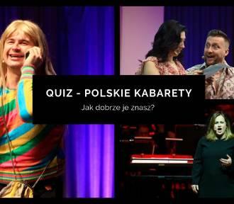 Jak dobrze znasz polskie kabarety? [QUIZ]