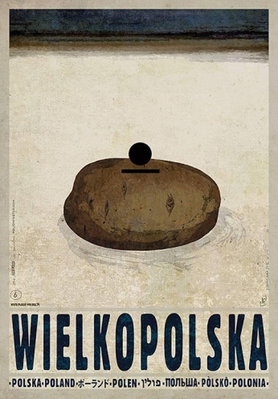 Wielkopolska na plakatach Ryszarda KaiPyrlandia