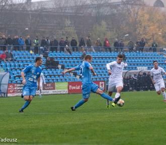 Błękitni Stargard zremisowali z Lechem II Poznań 2:2. Zobacz zdjęcia z meczu