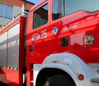 Powiat malborski. Strażacy pompowali wodę z elektrowni Rakowiec. Tygodniowy raport KP PSP Malbork