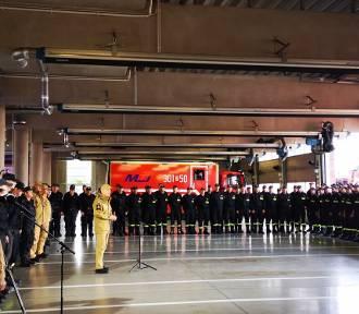 Polscy strażacy wrócili do kraju. Przywitano ich w Katowicach
