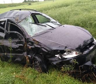 Kierowca toyoty wymusił pierwszeństwo w Julianowie