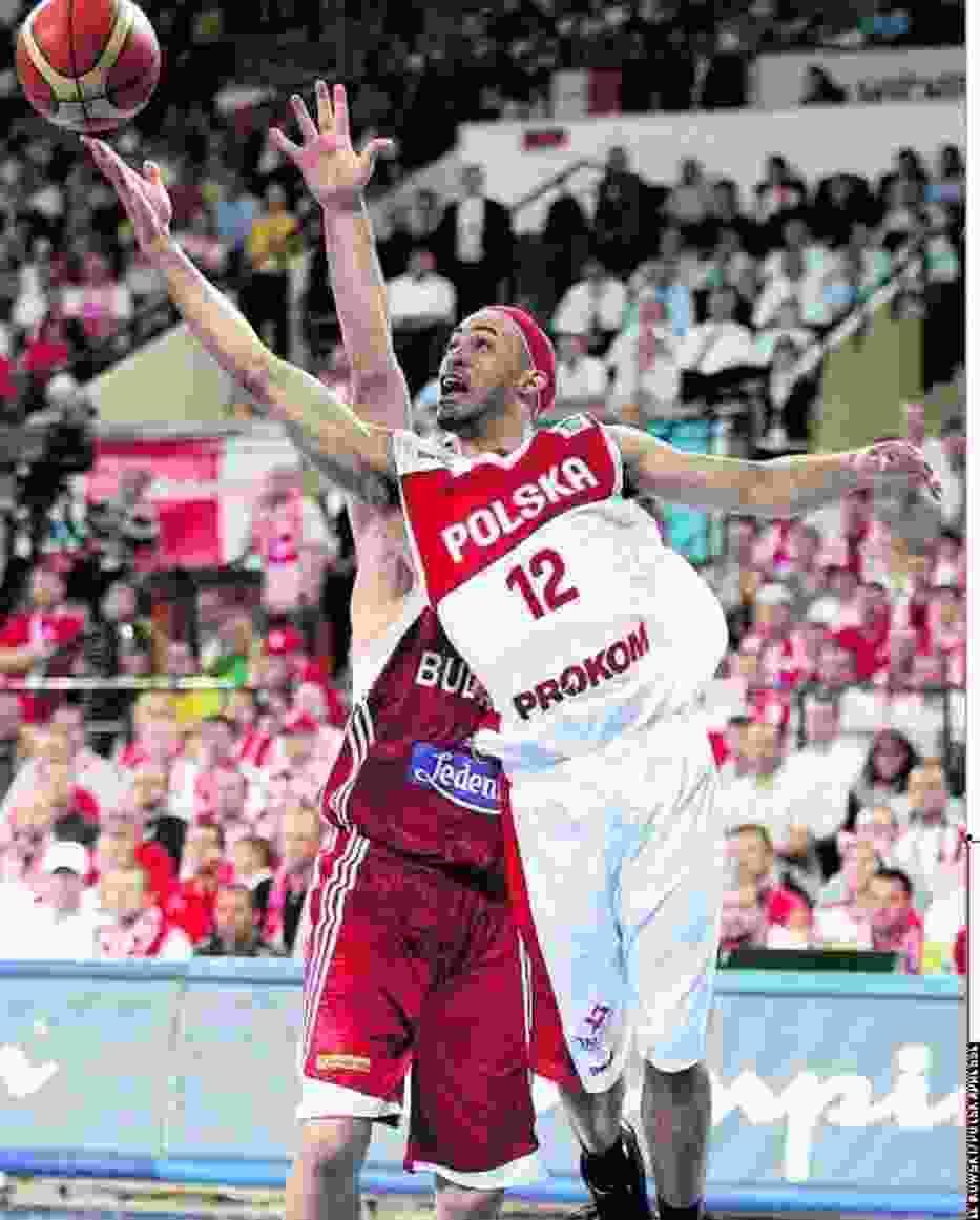 David Logan nie zawiódł, w meczu z Bułgarią zdobył 23 punkty
