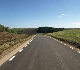 Zakończono modernizację drogi Ramleje - Goręczyno w gminie Somonino