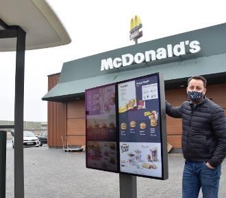 Nowy McDonald's w Bełku przy A1 tak wygląda w środku ZDJĘCIA