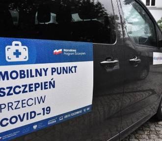 Do Lgoty Wielkiej przyjedzie szczepieniobus. Kiedy i gdzie zaparkuje?