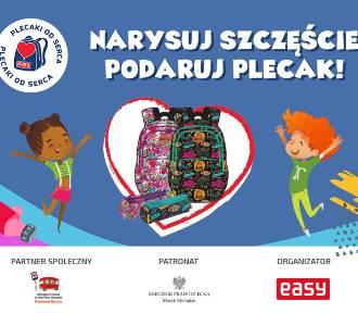 Plecaki od serca: Narysuj szczęście, podaruj plecak! Trwa II edycja akcji społecznej organizowanej
